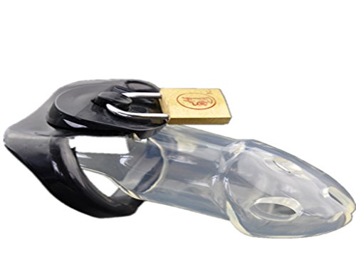 Male PrisonBird Chastity Cage polycarbonate material chastity pants Device Cock Cage, with 1.68