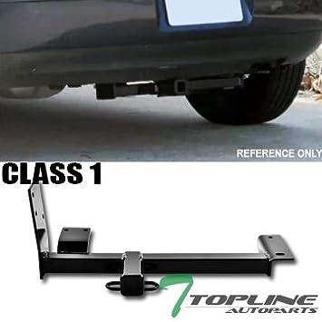 Topline autopart clase 1 I soporte receptor de enganche de remolque Remolque parachoques trasero Utilidad Kit