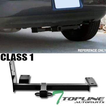 TOPLINE Autopartクラス1 I Trailer Hitch牽引用マウントリアバンパー受信機ユーティリティ牽引キット1.25