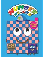 Numberblocks Annual 2022: Math activity book for kids ages 8-14