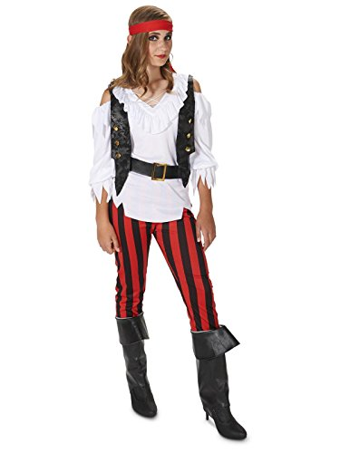 Rebel Pirate Girl Tween Costume -