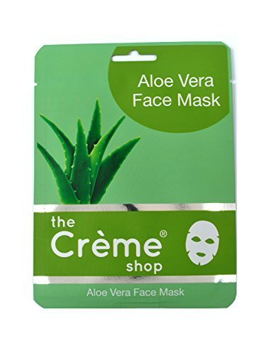 Creme Shop 12 Pcs Aloe Vera Moisturizing Face Mask