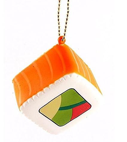 PriMI® - Llavero cuadrado de alivio de estrés con diseño de ...