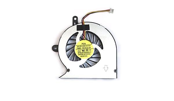 Toshiba Satellite L830 - 160 COMPATIBLES portátil Ventilador: Amazon.es: Informática