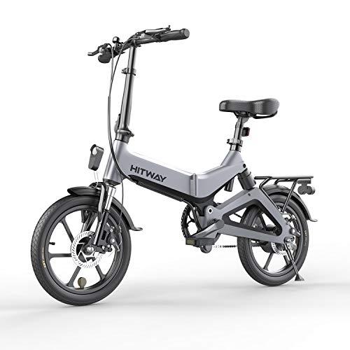 "Elektrische Fiets E-bike 16"" Wiel   Verwijderbare Batterij 7.5Ah   3 Snelheidsstanden   Motor 250W   Max Snelheid 25KM/U…"