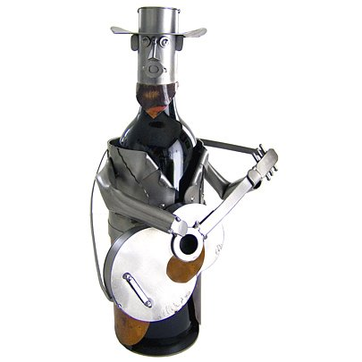 Guitar Player Wine Caddy by BuyGifts