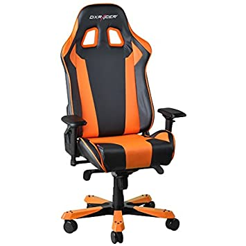 DXRacer OH/KS06/NO Silla para Videojuegos PC Gaming Chair Padded Seat - Sillas