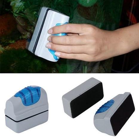 Amazon.com : Floating Magnetic Brush Aquarium Fish Tank Glass Algae Scraper Cleaner : Pet Supplies