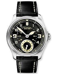 Victorinox Swiss Army Men's INFANTRY 241377 Black Stainless-Steel Swiss Quartz Watch with Black Dial