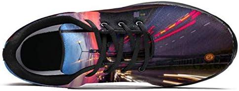 imobaby Chaussures de course de sport pour femme de nuit de route feux de circulation Mode Baskets en maille respirante Marche randonnée tennis chaussures