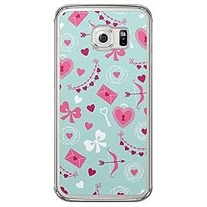 Loud Universe Samsung Galaxy S6 Edge Love Valentine Printing Files Valentine 37 Printed Transparent Edge Case - Multi Color