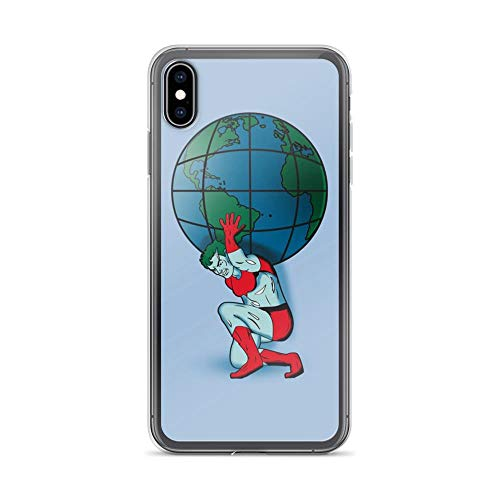 iPhone Xs Max Pure Clear Case Cases Cover Saving The Planet Captain Environment Retro TV Cartoon