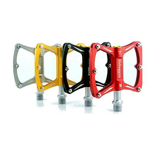 Bazaar Scudgood roulements à trois pédales de vélo de style de hache en alliage d'aluminium