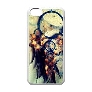 iPhone 5c Cell Phone Case White Dreamcatcher 004 SYj_982304