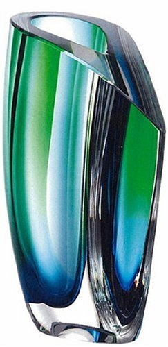 Amazon Kosta Boda Mirage Large Vase Bluegreen Home Kitchen