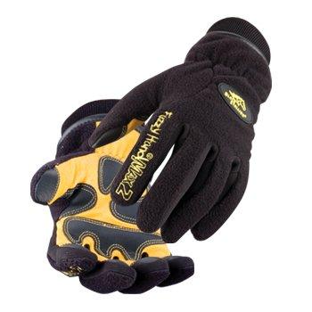 Black Stallion Fuzzy Hand Max2 Gloves - LARGE (Fuzzy Hands Gloves)