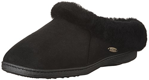Ewe Slippers Sheepskin Acorn Coal Oh Women's AYU4q4z