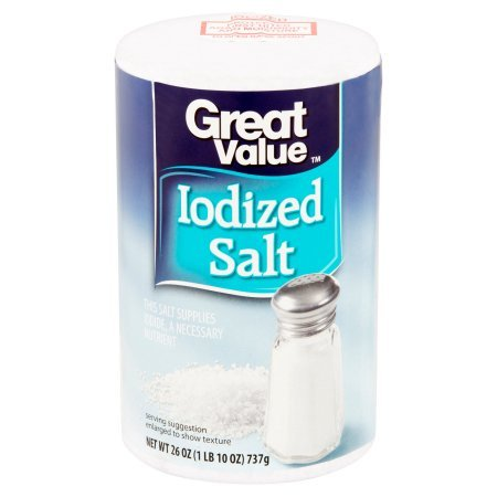 Great Value Iodized Salt, 26 oz (pack of 5) by Great Value (Image #1)