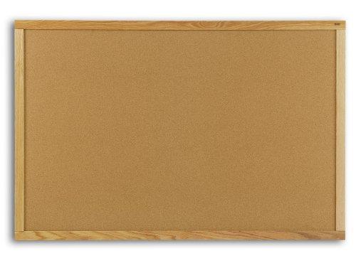 - Marsh Peb-Tac Plus 33.5x45.5 Natural Cork Bulletin Board, Oak Wood trim Electronics, Accessories, Computer