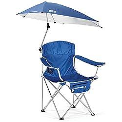 Sport-Brella Umbrella Chair, Blue