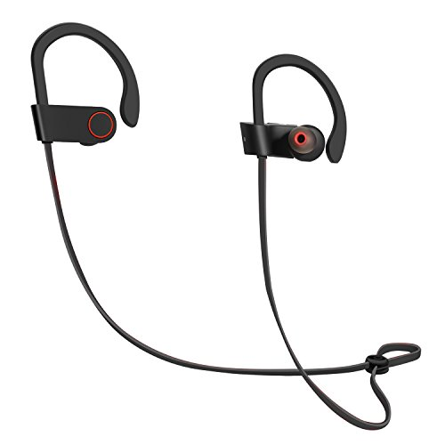 ICONNTECHS IT Bluetooth Earbuds, Latest CSR 4.1 Wireless Technology, Stereo Sound, Built-in Microphone, and IPX4 Water-Resistant Headphones for Active Lifestyles