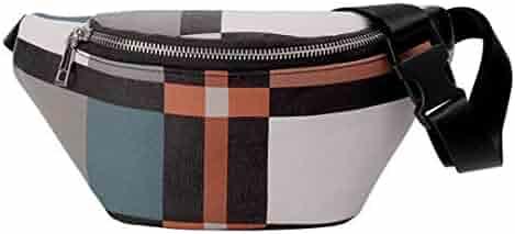 Techecho Hip Belt Bags Women Waist Bag Leopard Print Belt Bag Suede Leather Fanny Pack with Tassels Adjustable Removable Belt with Waist Pouch Mini Purse Wallet Travel Cell Phone Bag Men /& Women Slim