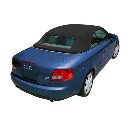Sierra Auto Tops Audi 2003-2009 A4 Convertible Top, Acoustic A5 Canvas, Black