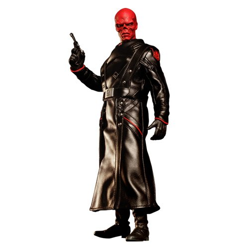 Red Skull Avengers Costume (Hot Toys Red Skull Captain America: The First Avenger Movie Masterpiece Series (MSS 167) 1:6 Scale Figure)