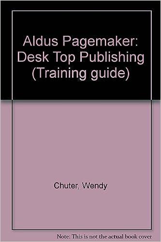Pagemaker Training Book
