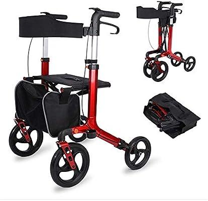 B WALKER Andador Plegable, Compacto y liviano con Andador de ...