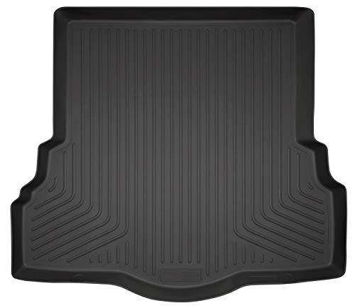 Husky Liners 43751 Black Weatherbeater Trunk Liner Fits 2013-19 S/SE/Titanium, 2017-18 Platinum, 2017-19 Ford Fusion Sport