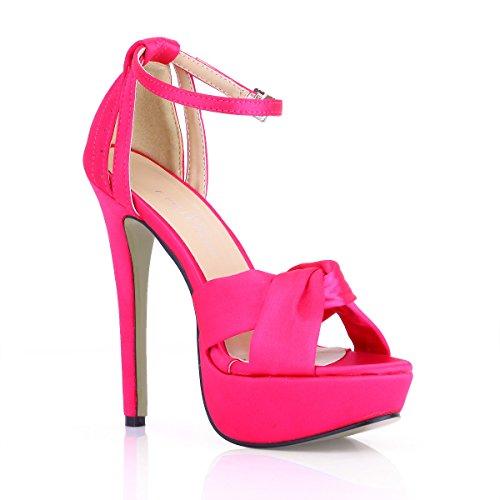 Sandalias Shoes Impermeable Mujer Al heel Cintas Pink Alto Cena Mercers Escritorio Seda Productos Zapatos Femeninos De Nueva Negro Verano rqTrgp