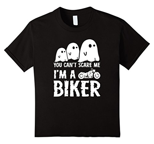 Biker Halloween Costumes Girl (Kids Halloween Costume Ghoul Biker T-Shirt 12 Black)