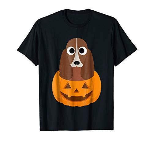 Halloween costume gifts Basset Hound dog lover t shirt -