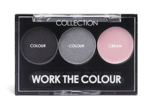Collection Work The Colour Trio Eyeshadow Smoke Screen 3g by
