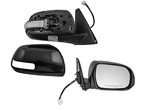 OE Replacement Toyota 4-Runner Passenger Side Mirror Outside Rear View (Partslink Number TO1321263)