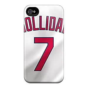 Fashion Protective St. Louis Cardinals Case Cover For Iphone 4/4s