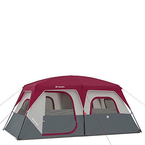Columbia Sportswear Ashland 8 Person Tent (Grey/Burgundy)