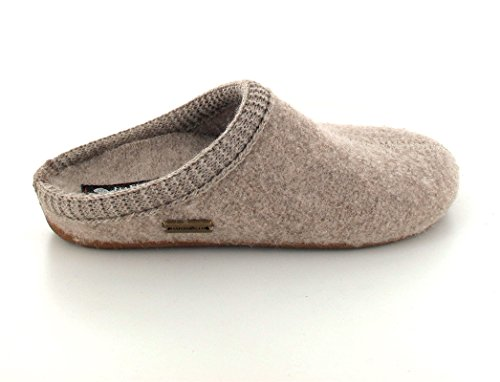 HAFLINGER Unisex Walktoffeln Dakota Dynamic mit Komfort-Fußbett papiermeliert öko