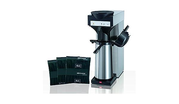 Melitta M 170 MT filtro de café eléctrica con Pump Jarra + Melitta Café Especial 75 x 60 g: Amazon.es: Hogar