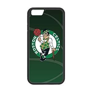 Boston Celtics Design Theme Back TPU Case for 4.7 inch Screen iPhone 6 (Laser Technology)-by Allthingsbasketball Kimberly Kurzendoerfer