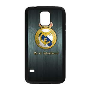 Real-Madrid-Black Samsung Galaxy S5 Cell Phone Case Black Tjaix