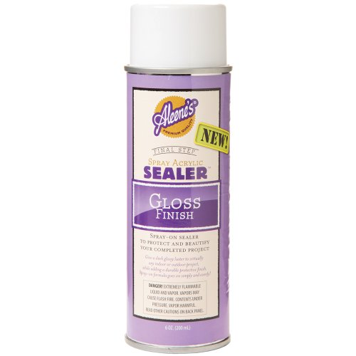 Aleene's Spray Acrylic Sealer Gloss Finish 6oz