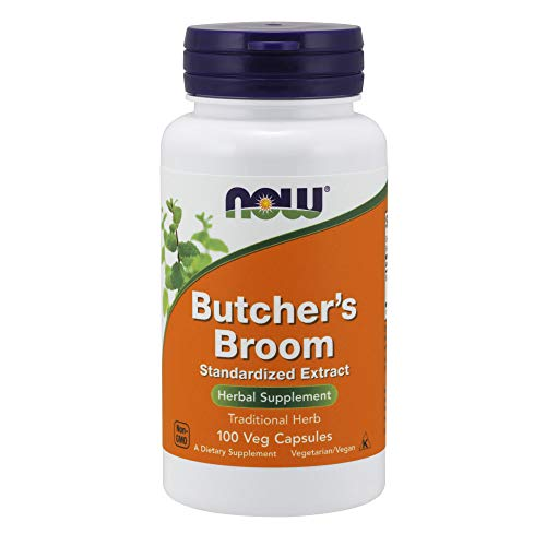 Now Supplements, Butcher's Broom (Ruscus aculeatus)200 mg, 100 - Way Broom Natures Butchers