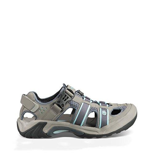 Teva Women's Omnium Sandal,Slate,6.5 M US (Sandals Teva Mesh)