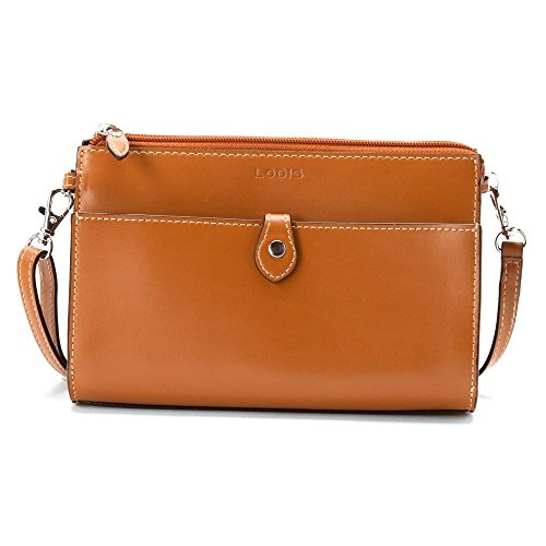 Lodis Convertible Clutch (Lodis Accessories Women's Audrey Vicky Convertible Crossbody Clutch Toffee/Chocolate Cross Body)