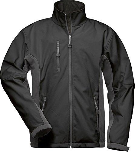 CRAFTLAND Softshell-Jacke - 19990 - schwarz/grau - Größe: L