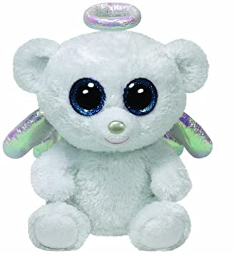 Image Unavailable. Image not available for. Color  Ty Beanie Boos Halo - Angel  Bear 29e0dbad7639