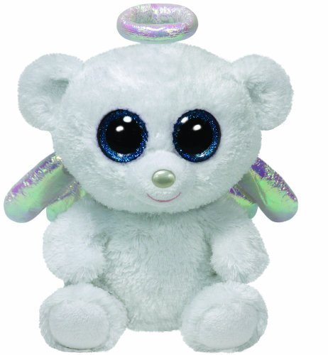 998b42d9762 Image Unavailable. Image not available for. Color  Ty Beanie Boos Halo - Angel  Bear