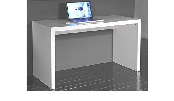 Zijlstra B.V. Escritorio Blanco Brillante 140 x 60 cm: Amazon.es ...